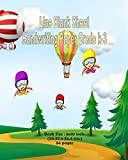 Line Blank Sheet Handwriting Paper Grade K-3: Flying Kids Theme Cover, Book Size : 8X10 Inch...