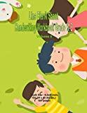 Line Blank Sheet Handwriting Workbook Grade K-3 Volume 3: Family Theme Cover, Book Size : 8....