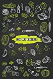 100 My Recipes: Blank Recipe Book Journal to Write In