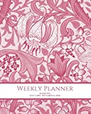 Weekly Planner: Vintage Floral; 18 months; July 1, 2019 - December 31, 2020; 8