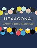Hexagonal Graph Paper Notebook: Hexagon Graph Paper Organic Chemistry & Biochemistry Structu...