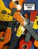 Ukelele Tabs Notebook: Blank ukelele tabs notebook with chord spaces