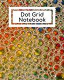 Dot Grid Notebook: Multi-color