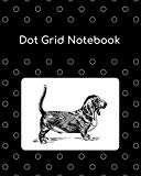 Dot Grid Notebook: Basset Hound