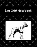 Dot Grid Notebook: Boxer