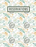 Reservations: Reservation Book For Restaurant | 2019 365 Day Guest Booking Diary | Hostess T...