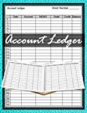 Accounting Ledger: 120 pages, Size 8.5 x 11 inches (double-sided), Journal Business Financia...