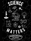 "Science Matters Hexagonal Graph Paper Notebook 160 Pages – 8.5"" X 11"": Organic Chemistry Sci..."
