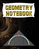 Geometry Notebook: 123 Pages, Blank Journal - Notebook To Write In, 5x5 Graph Paper Alternat...
