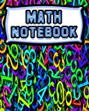 Math Notebook: 123 Pages, Blank Journal - Notebook To Write In, 5x5 Graph Paper Alternating ...