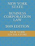 NEW YORK STATE BUSINESS CORPORATION LAW 2019 EDITION