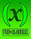 Pre-Algebra: 123 Pages, Blank Journal - Notebook To Write In, 5x5 Graph Paper Alternating Wi...