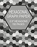 Hexagonal Graph Paper 0.5