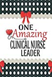 One Amazing Clinical Nurse Leader: Medical Theme Decorated Lined Notebook For Gratitude And ...