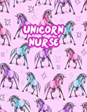 Unicorn Nurse: Cute Journal Notebook for Nursing Student and Practitioner with Large 8.5