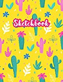 Sketchbook: Cute Drawing Note Pad and Sketch Book for Kids, Girls and Adult - Large 8.5 x 11...
