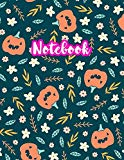 Notebook: Cute Blank Lined Journal Large 8.5 x 11 Matte Cover Design with Ruled White Paper ...