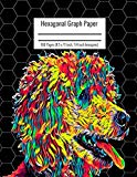 Hexagonal Graph Paper: Organic Chemistry & Biochemistry Notebook, Vibrant Poodle Dog Cover, ...