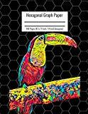 Hexagonal Graph Paper: Organic Chemistry & Biochemistry Notebook, Vibrant Australian Bird Co...