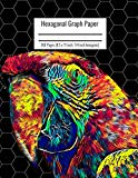 Hexagonal Graph Paper: Organic Chemistry & Biochemistry Notebook, Vibrant Parrot Bird Cover,...