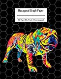 Hexagonal Graph Paper: Organic Chemistry & Biochemistry Notebook, Vibrant English Bulldog Do...