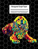 Hexagonal Graph Paper: Organic Chemistry & Biochemistry Notebook, Vibrant Cocker Spaniel Dog...