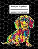 Hexagonal Graph Paper: Organic Chemistry & Biochemistry Notebook, Vibrant Dachshund Dog Cove...