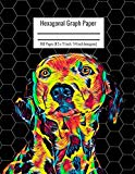 Hexagonal Graph Paper: Organic Chemistry & Biochemistry Notebook, Vibrant Dalmatian Dog Cove...