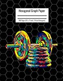 Hexagonal Graph Paper: Organic Chemistry & Biochemistry Notebook, Vibrant Gum Dumbbells Fitn...
