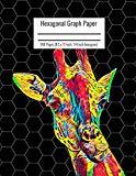 Hexagonal Graph Paper: Organic Chemistry & Biochemistry Notebook, Vibrant Giraffe Cover, 160...