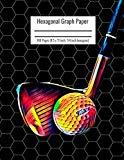Hexagonal Graph Paper: Organic Chemistry & Biochemistry Notebook, Vibrant Golf American Spor...