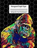 Hexagonal Graph Paper: Organic Chemistry & Biochemistry Notebook, Vibrant Gorilla Monkey Cov...