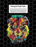 Hexagonal Graph Paper: Organic Chemistry & Biochemistry Notebook, Vibrant Lion Head Cover, 1...