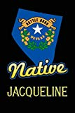 Nevada Native Jacqueline: College Ruled | Composition Book