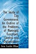 The Study Of City Government