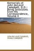Memorials Of John Mcleod Campbell, D.D.