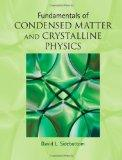 Fundamentals of Condensed Matter and Crystalline Physics: An Introduction for Students of Ph...