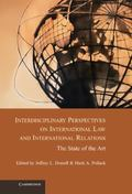 Interdisciplinary Perspectives on International Law and International Relations : The State ...