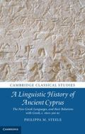Linguistic History of Cyprus : The Non-Greek Languages and Their Relations with Greek, C. 16...