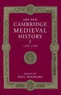 New Cambridge Medieval History: Volume 1, C. 500-C. 700