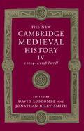 New Cambridge Medieval History: Volume 4, C. 1024-C. 1198, Part 2