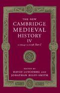 New Cambridge Medieval History: Volume 4, C. 1024-C. 1198, Part 1