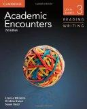 Academic Encounters Level 3 Student's Book Reading and Writing: Life in Society (Academic En...