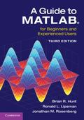 Guide to MATLAB : For Beginners and Experienced Users