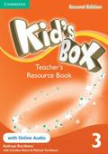Kid's Box Level 3 Teacher's Resource Book with Online Audio