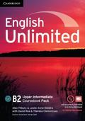 English Unlimited Upper Intermediate Coursebook with e-Portfolio and Online Workbook Pack
