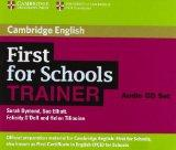 First for Schools Trainer Audio CDs (3) (Authored Practice Tests)