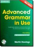 Advanced Grammar in Use Book with Answers and CD-ROM: A Self-Study Reference and Practice Bo...