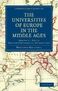 Universities of Europe in the Middle Ages: Volume 2, Part 2, English Universities, Student Life