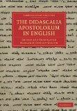 The Didascalia Apostolorum in English (Cambridge Library Collection - Religion)